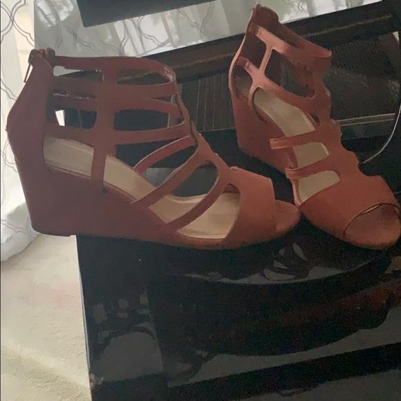 Jasmine Shoes - Open toe wedge sandals